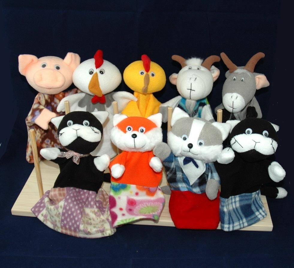 Кошкин дом кукольный театр своими руками 51
