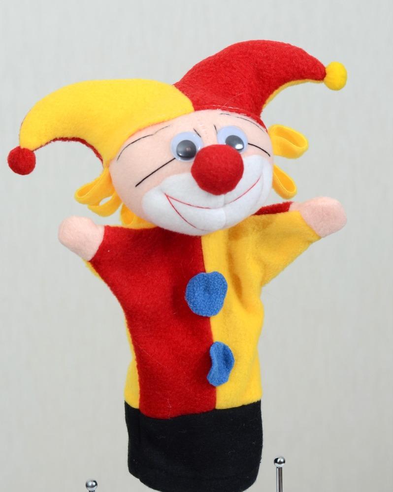 Игрушка петрушка своими руками из ткани 2