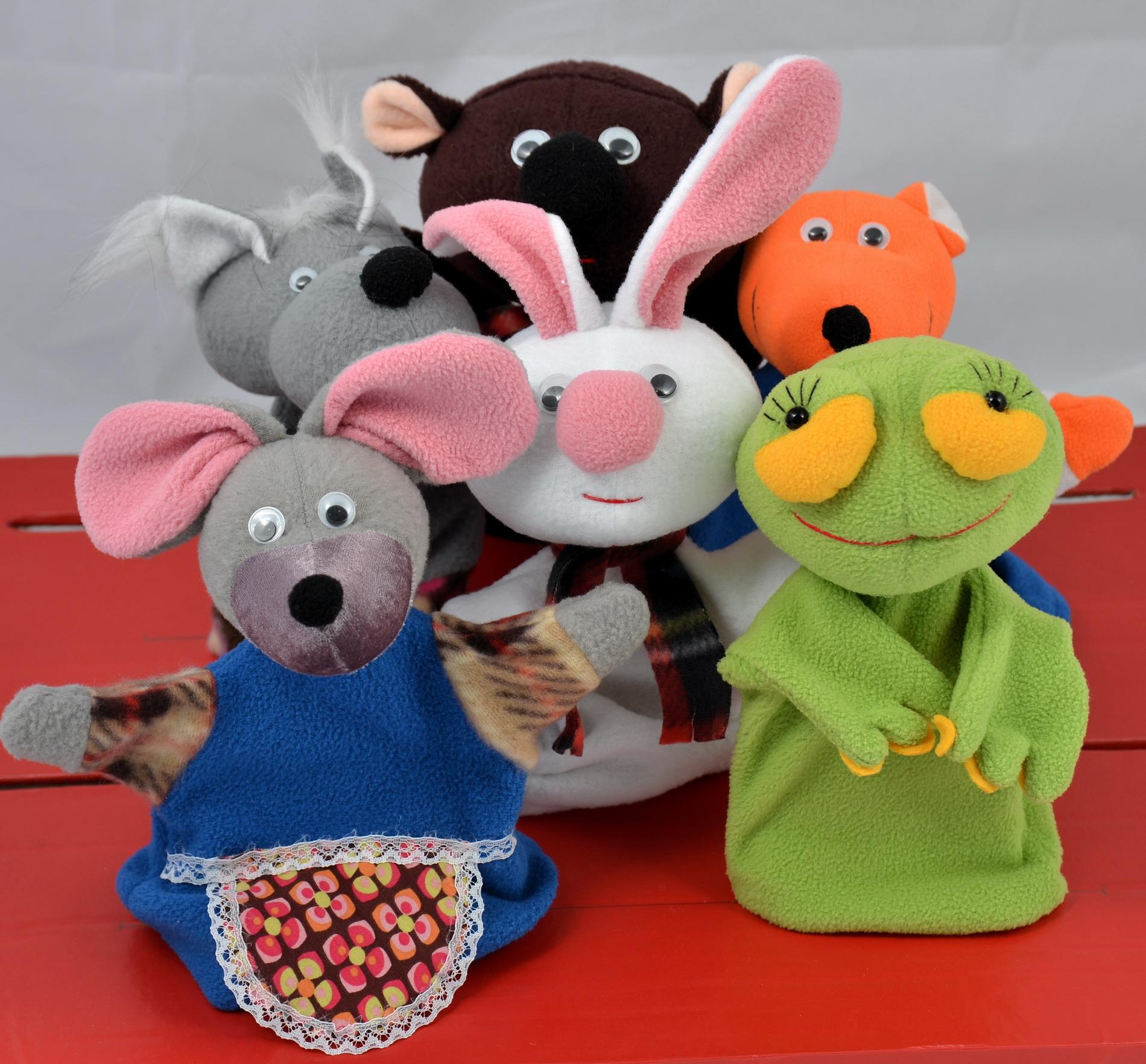 Игрушки перчатки для кукольного театра своими руками фото 317