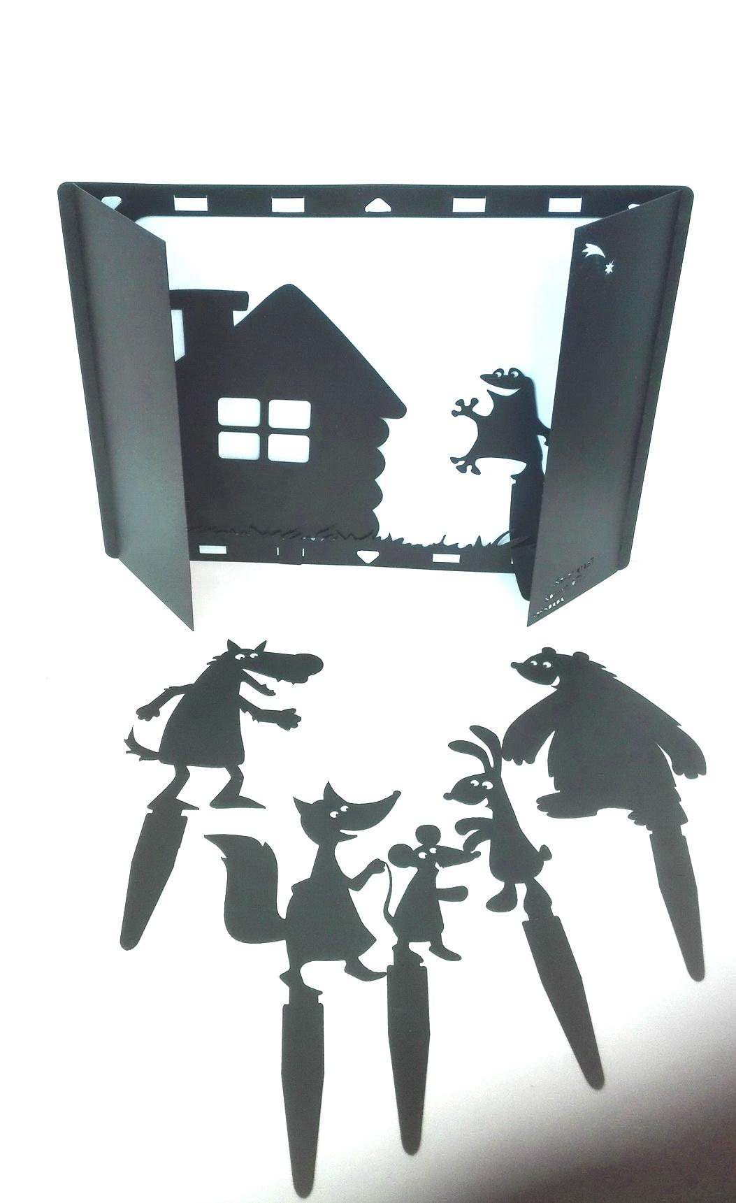 уайлдер теневой театр кот в сапогах своими руками шаблоны как они преобразили