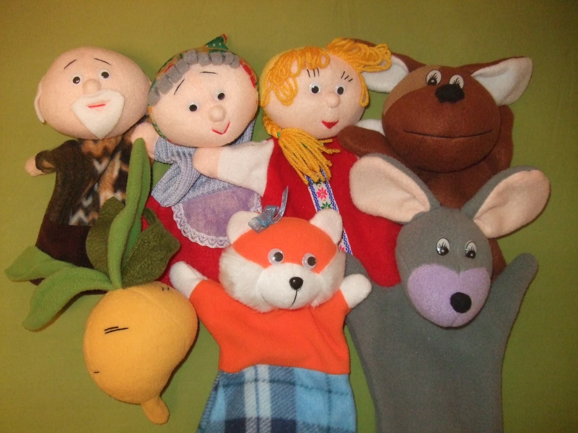 Игрушки перчатки для кукольного театра своими руками фото 731
